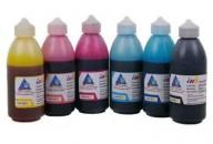 Set of dye-based ink INKSYSTEM 100 ml (6 colors)